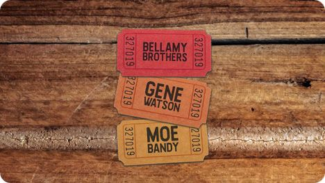 Gene Watson, Bellamy Brothers and Moe Bandy at Riverwind Casino, I-35, 1544 State Highway 9, Norman, OK 73072 on Saturday 22 May 2021 at 7:00pm