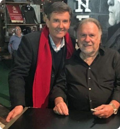 Gene Watson and Daniel O'Donnell at The Starlite Theatre in Branson, Missouri on Wednesday 1 November 2017