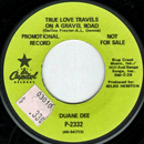 Duane Dee: 'True Love Travels on a Gravel Road' (Capitol Records, 1968)