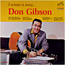 Don Gibson: 'I Write a Song' (RCA Victor Records, 1963)
