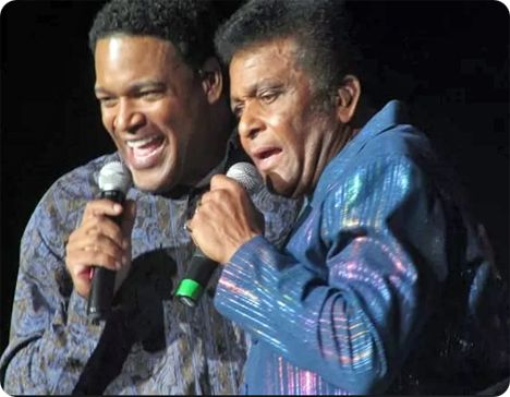 Dion Pride and Charley Pride