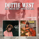 Dottie West: 'Here Comes My Baby & Dottie West Sings' (Morello Records, 2016)