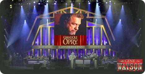 Gene Watson & The Farewell Party Band at Grand Ole Opry, 2804 Opryland Drive, Nashville, TN 37214 on Friday 6 September 2019