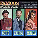 George Jones with Gene Pitney & Melba Montgomery: 'Famous Country Duets' (Muxicor Records, 1965)