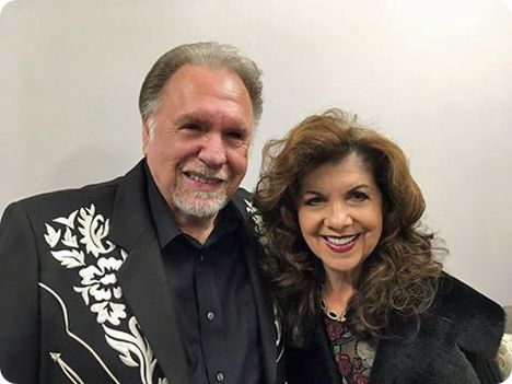 Gene Watson & Jody Miller pictured following Gene's show, on Friday 21 October 2016, at Riverwind Casino (1544 State Highway 9) in Norman, Oklahoma