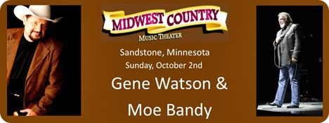 Midwest Country Theatre, 309 Commercial Avenue, Sandstone, Minnesota 55072