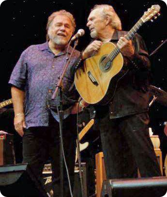 Gene Watson and Merle Haggard in 2009