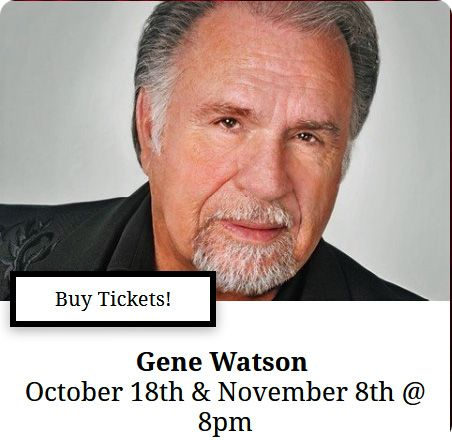 Gene Watson & The Farewell Party Band at The Mansion Theatre, 189 Expressway Lane, Branson, MO 65616 on Friday 18 October 2019