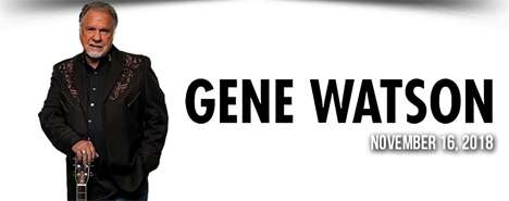 Gene Watson at Country Tonite Theatre, 129 Showplace Boulevard, Pigeon Forge, TN 37863 on Friday 16 November 2018