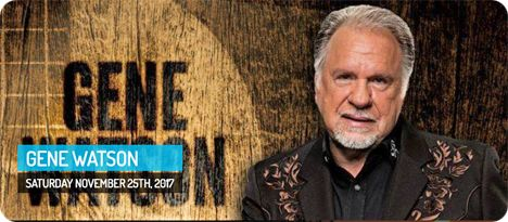 Gene Watson at Lake Striker Marina, The Concert Field, 18650 County Road 4256 South, Reklaw, TX 75784 on Saturday 25 November 2017