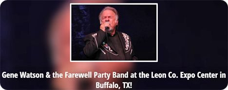 Gene Watson at Veterans Appreciation Day, Leon County Expo Center, 3637 CR 305, Buffalo, TX 75831 on Saturday 26 September 2015