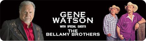 Gene Watson & The Bellamy Brothers (Howard & David Bellamy) at American Music Theatre, 2425 Lincoln Highway East, Lancaster, PA 17602 on Sunday 16 May 2021